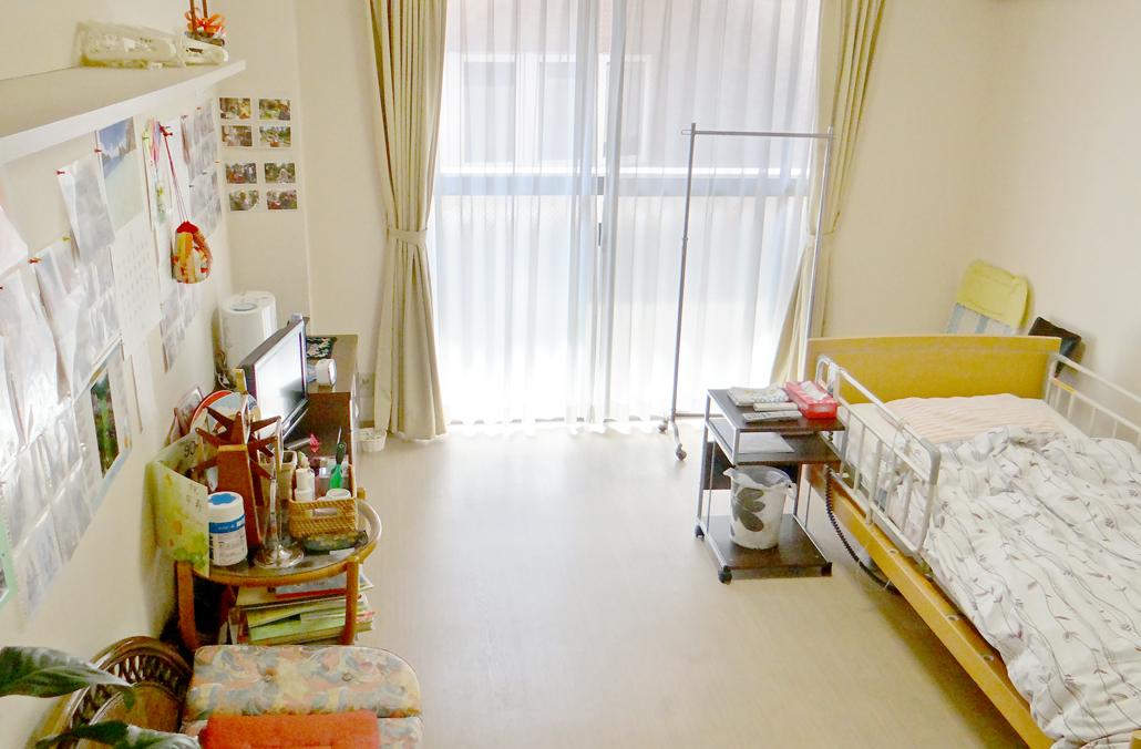 室内は光が入る、暖かなお部屋です。
